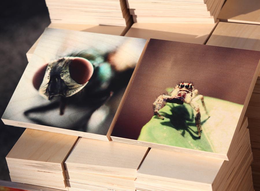 уф-печать на деревянном пано