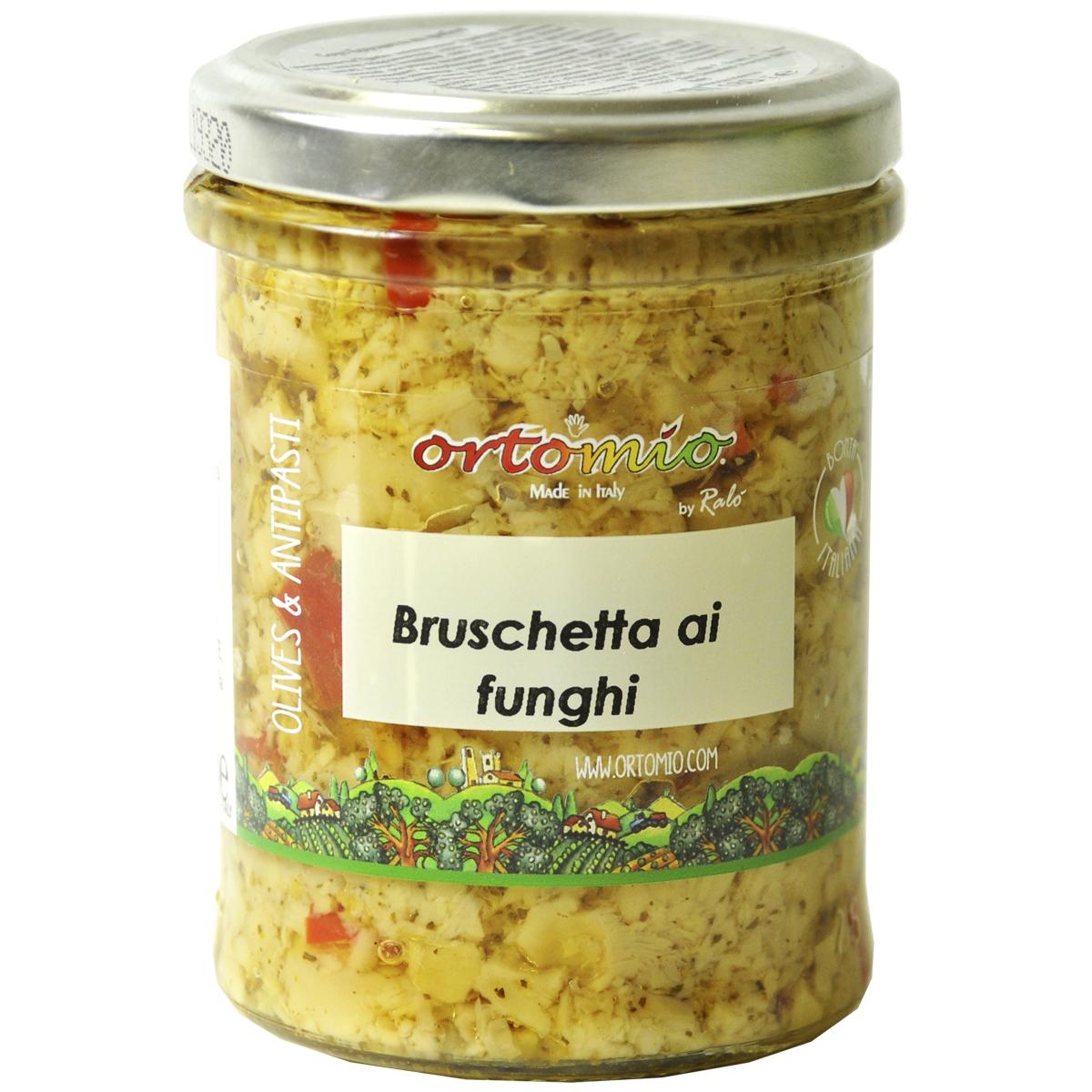 Соус Брускетта из грибов 180 г Ortomio
