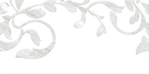 Плитка настенная CERSANIT Royal Stone 598х298 декорированная B, белый C-RSL053D