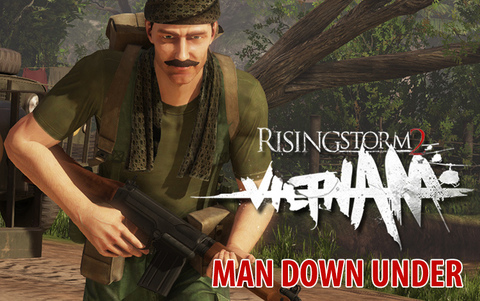 Rising Storm 2: Vietnam - Man Down Under (для ПК, цифровой ключ)