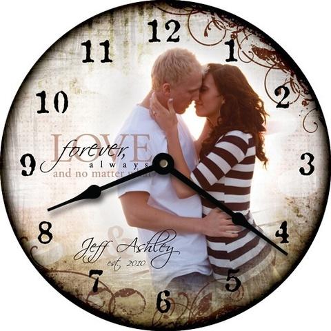 часы индивидуальный дизайн с надписями