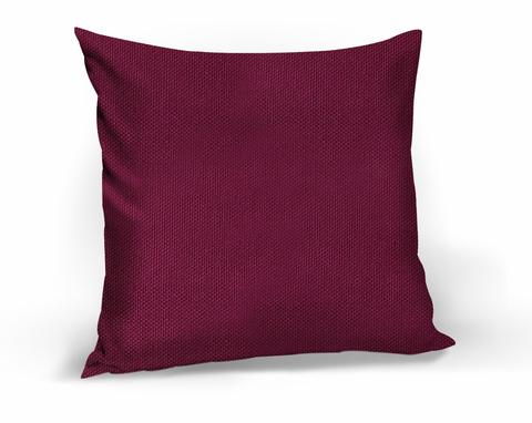 Подушка декоративная Адриана бордово-фиолетовый