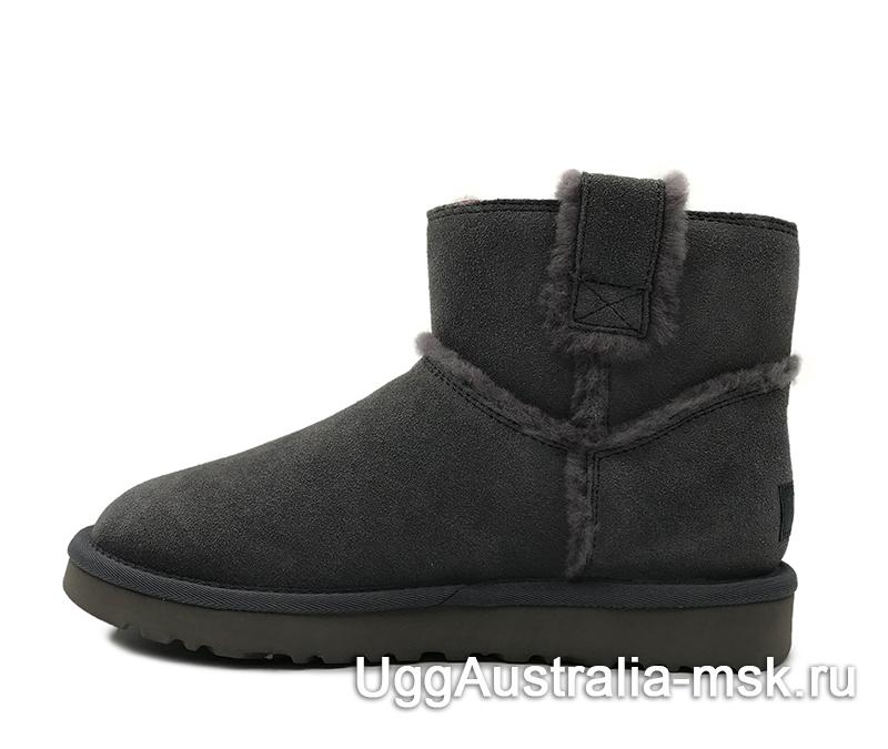 UGG Classic Mini Top Wool Gray