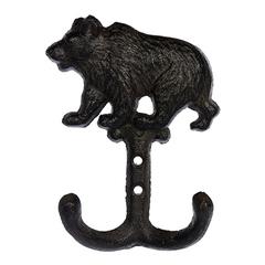Крючок чугунный «Медведь»