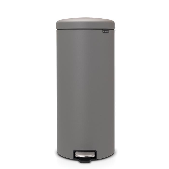 Мусорный бак newIcon (30 л), Минерально-серый, арт. 119187 - фото 1