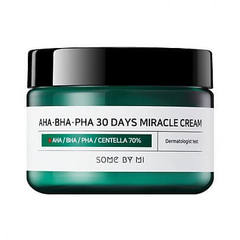 Some by mi Восстанавливающий крем для проблемной кожи AHA-BHA-PHA 30 Days Miracle Cream  60 мл
