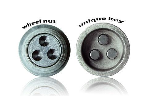 Секретные болты HEYNER Stil-Bull L2 M12x1.5 1 ключ