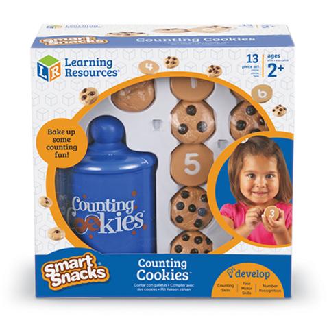 LER7348 Игровой набор Печеньки. Вкусный счет, Learning Resources