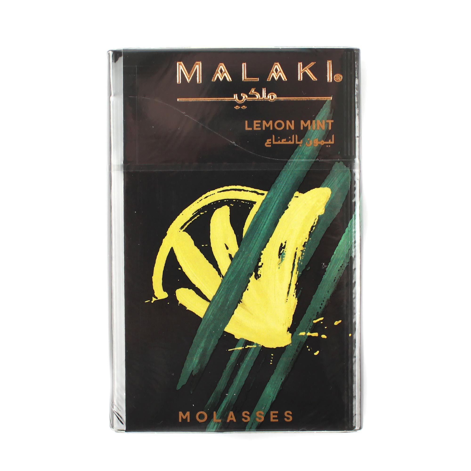 Табак для кальяна Malaki Lemon Mint 50 гр
