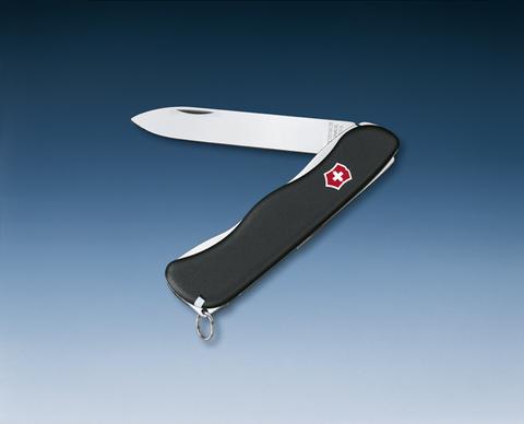 Нож Victorinox Sentinel, 111 мм, 4 функции, с фиксатором лезвия, черный123