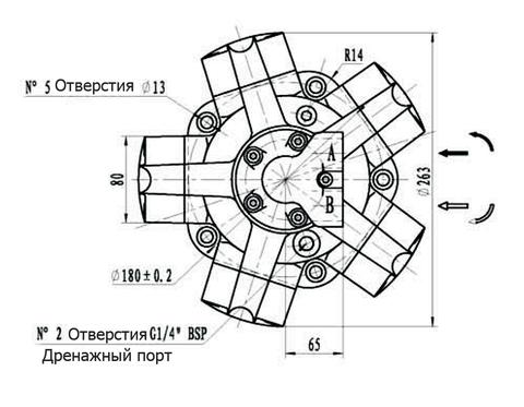 Гидромотор IPM2-300