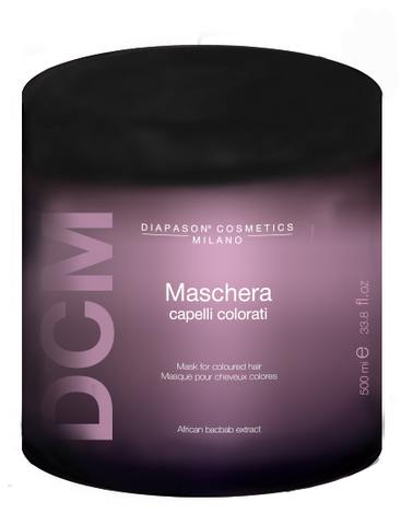 DCM Маска для защиты цвета и восстановления окрашенных волос diapason