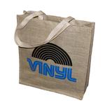 Эко-сумка из Джута для Виниловых Пластинок