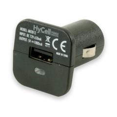 Автомобильный адаптер HyCell USB 1000mA