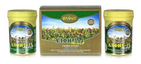Чай Алфит-Актив № 11 легочный, 60 бр. (Гален)