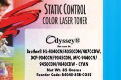 Тонер голубой (cyan) для Brother HL-4040, HL-4050, HL-4070, MFC-9440CN - 85 грамм. Static Control (4,000 pages)