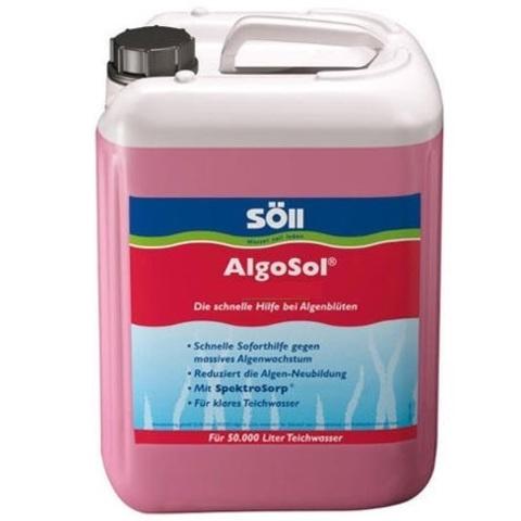 Препарат для борьбы с водорослями в пруду Soll AlgoSol 5L