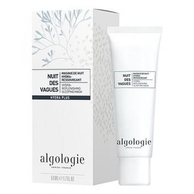 Algologie Маски для лица: Увлажняющая восстанавливающая ночная маска для лица