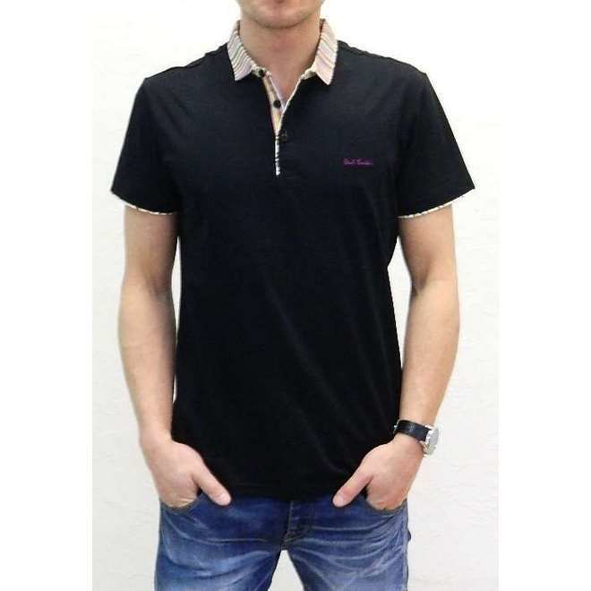 Мужская футболка поло черная Paul Smith