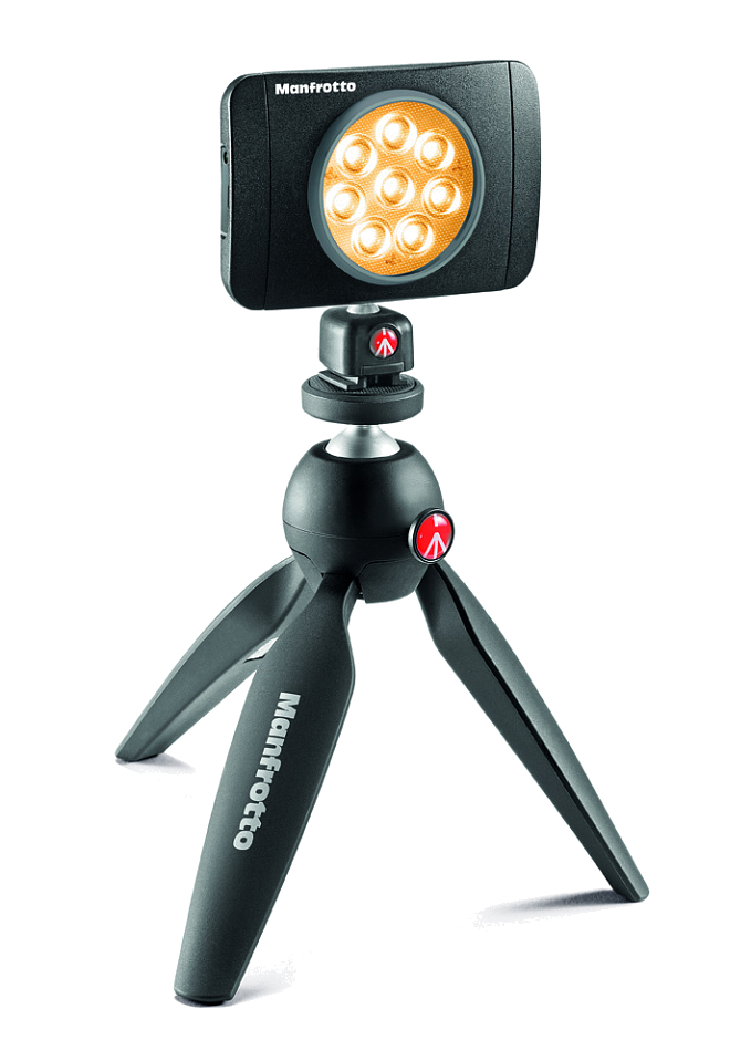 Manfrotto MLUMIEMU-BK LED Lumie Muse