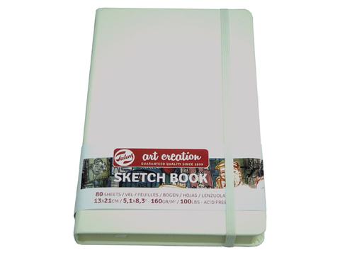 Скетчбук для смешанных техник Art Creation 160г/кв.м А4 80л твердая обложка белый
