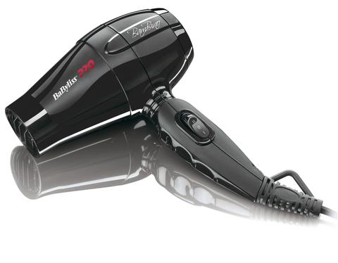 Фен BaByliss Pro BamBino, 1200 Вт, 1 насадка + диффузор, черный