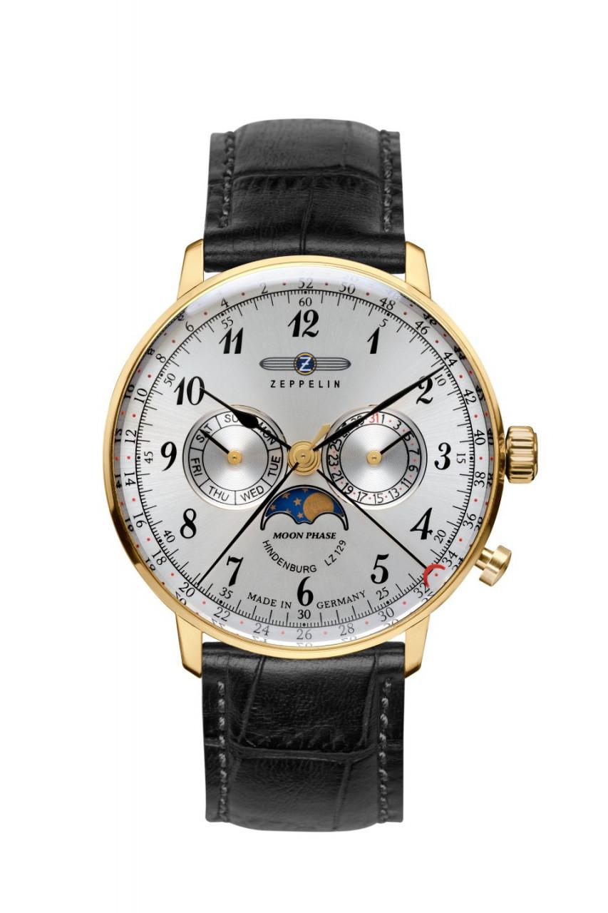 Мужские часы Zeppelin LZ129 Hindenburg Moonphase 70381