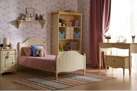 Детская спальня Айно 5 (желтая пастель)