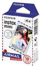 Fotoaparat lenti \ Картридж Fujifilm Instax Mini Airmail, 10 lent