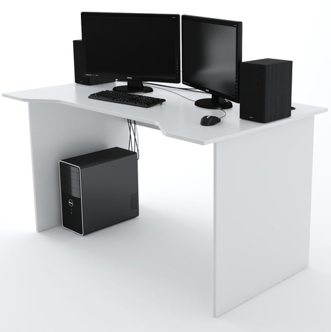 Стол Компьютерный Jedi 1400 Белый