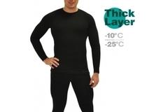 Фуфайка мужская Mottomo Thick Layer 3XL черный