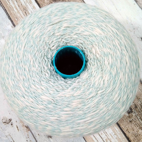 Смесовка с кашемиром (45%) Todd & Duncan GLEN LYON 400 бело-зеленый