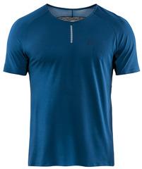 Элитная беговая Футболка Craft Nanoweight Blue мужская