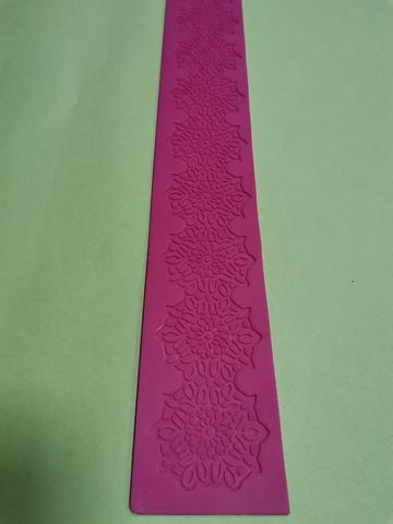 Коврик для айсинга АЙ-102-4, 38х5см,, силикон