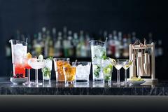 Набор из 2 бокалов для мартини Mixologist LSA International, 230 мл, фото 2