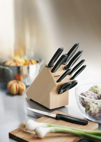 Набор Victorinox кухонный, 9 предметов, в подставке