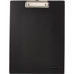 Папка-планшет Attache A4 пластиковая черная без крышки
