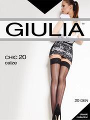 Giulia CHIC 20 aut. чулки со швом