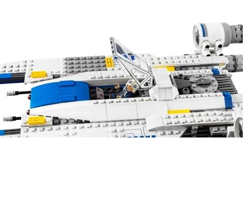 LEGO Star Wars: Истребитель U-Wing Повстанцев 75155 — Rebel U-wing Fighter — Лего Стар варз ворз Звёздные войны