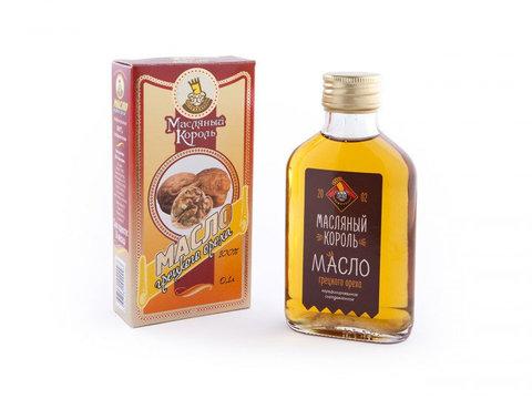 Масляный король масло грецкого ореха 0,1л