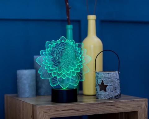 Светильник Цветик-семицветик