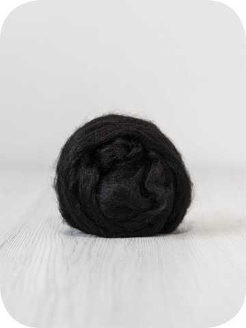 Волокна вискозы черный