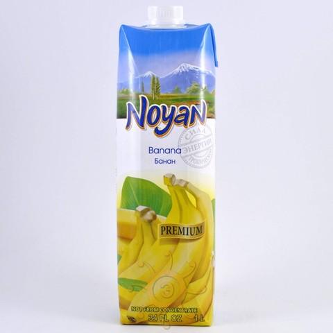 Нектар банановый с мякотью Noyan, 1л
