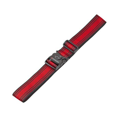 Ремень багажный Wenger (604597) черный/красный, 101,5x1,4x5 см