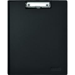 Папка-планшет Attache A4 пластиковая черная с крышкой
