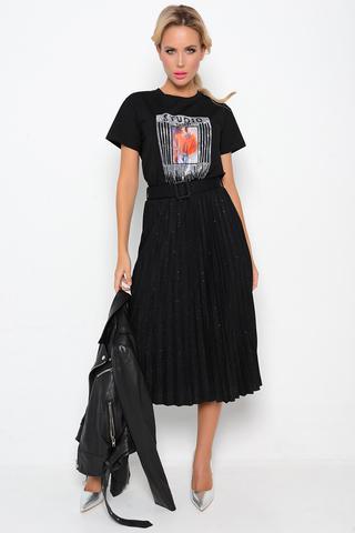 """<p>Самая модная юбка """"плиссе"""" сезона 2021. Женственность снова в моде! Юбка на резинке с поясом.&nbsp;</p> <p>Ремень в стоимость входит. Длины:( 42-48р-77).</p>"""