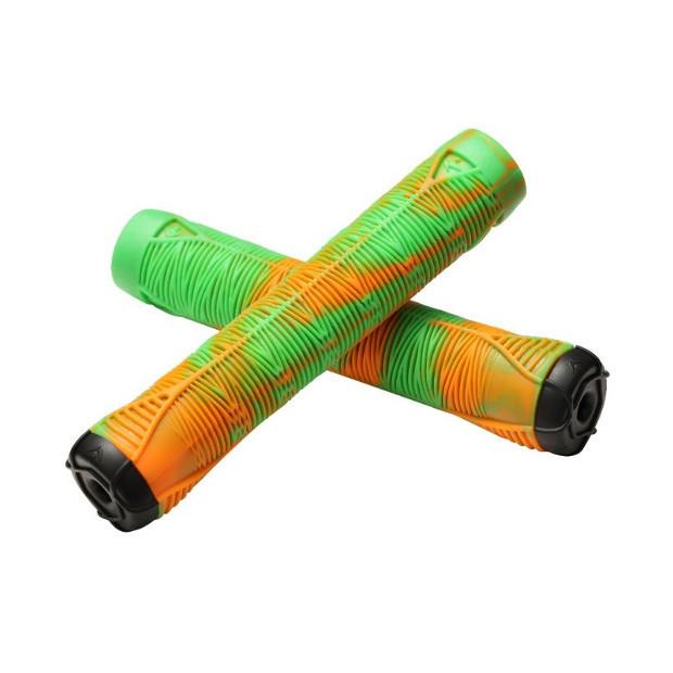 Грипсы BLUNT V2 (Green/Orange)