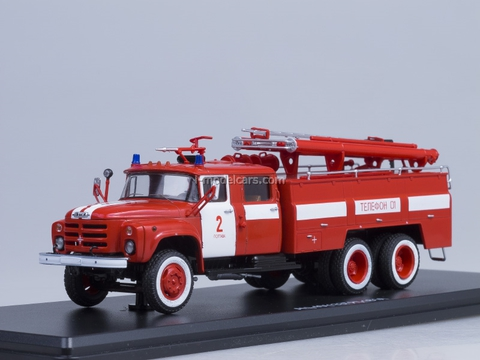 ZIL-133GYa AC-40 fire engine 181A Start Scale Models (SSM) 1:43