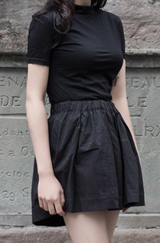 Шорты-юбка «GRILLE»