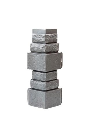 Угол наружный Дикий Камень - Серый